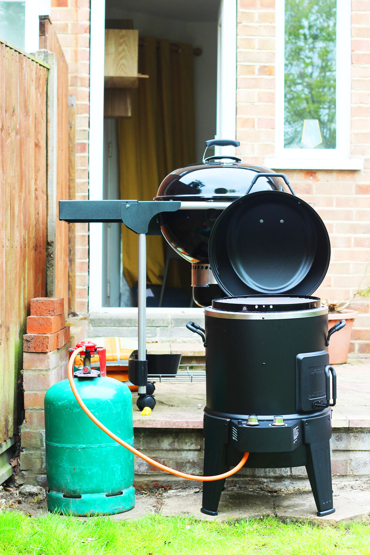 Char Broil Big Easy Smoker Roaster And Grill Supper In