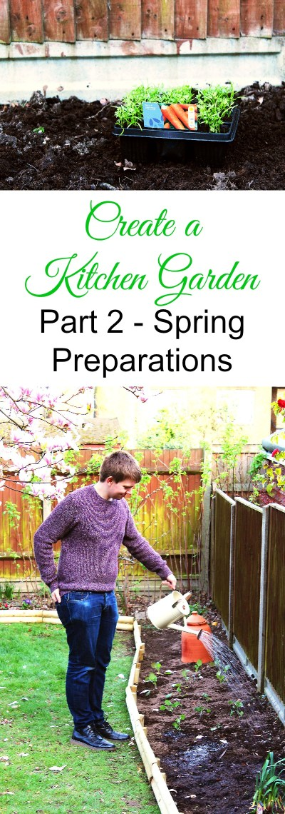 Not got an allotment but want to grow your own fruit and vegetables? Follow my series and find out just how easy it is to create your own kitchen garden at home full of edible plants. Check out Part 2 here.