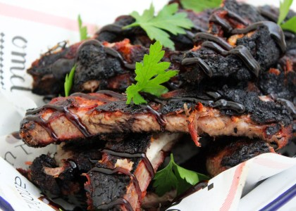 It's easier than you think to make authentic Memphis Style Smoked Barbecue Ribs! Get the recipe at Supper in the Suburbs!