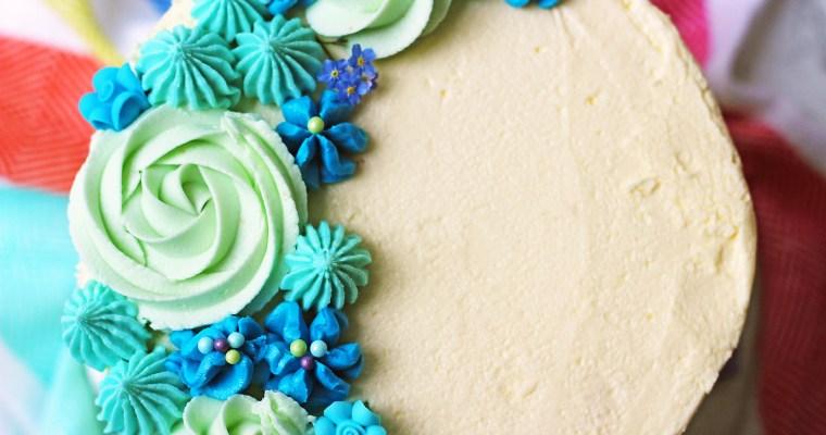 Lemon and Blueberry Layer Cake
