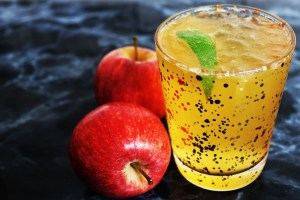 This twist on a classic is made with rum, cider, ginger beer and lime. It's the perfect autumnal drink for when the storm clouds roll in. Get the recipe on Supper in the Suburbs!