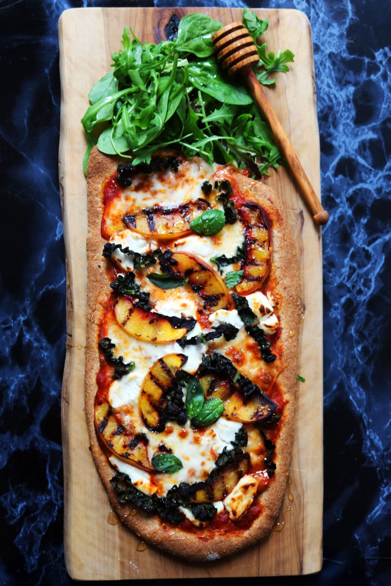 Fruit and cheese is a winning combo so it's no surprise this Nectarine and Kale Pizza is a real crowd pleaser! Get the recipe at Supper in the Suburbs.