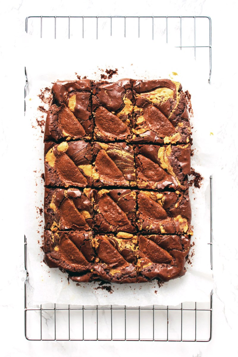 These peanut butter brownies really are the best brownie recipe ever. Sweet, salty and a little bitter they are perfect with a cup of tea or coffee! Get the recipe at Supper in the Suburbs!