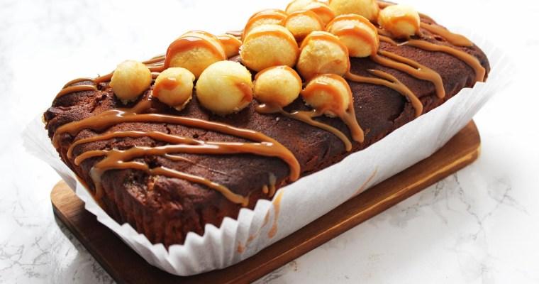 Toffee Apple Loaf Cake