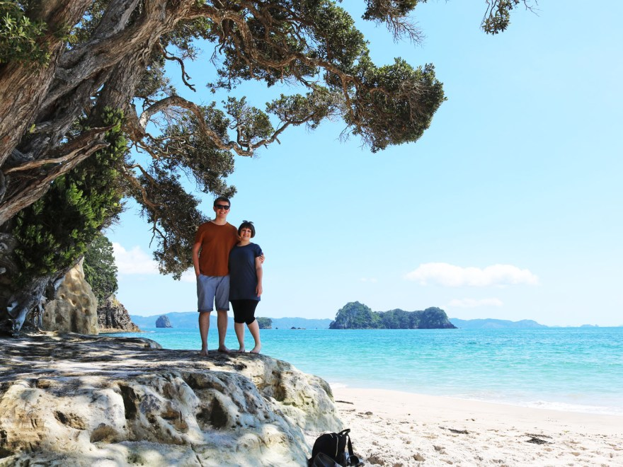 The Coromandel is the perfect place to enjoy sun, sea and sand on you road trip around New Zealand