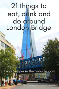 21 things to eat drink and do around London Bridge