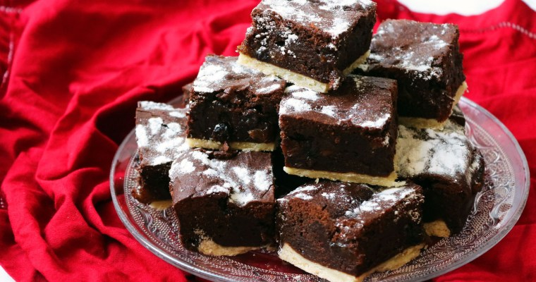 Mince Pie Brownies