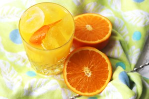 Orange and vodka cocktail (Screwdriver)