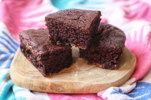 3 vegan brownies