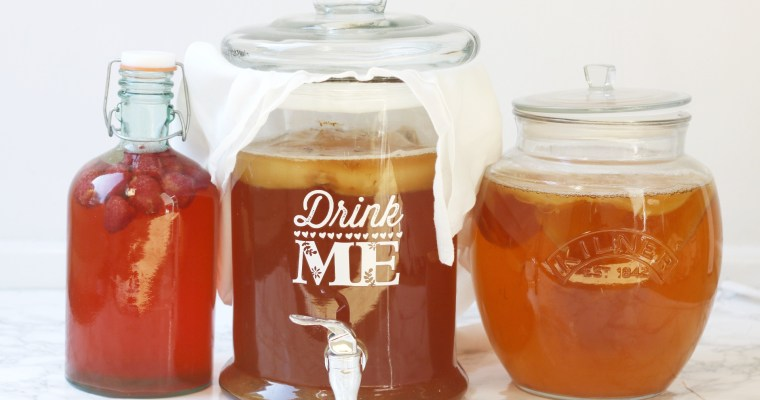 Everything you need to know about brewing kombucha at home