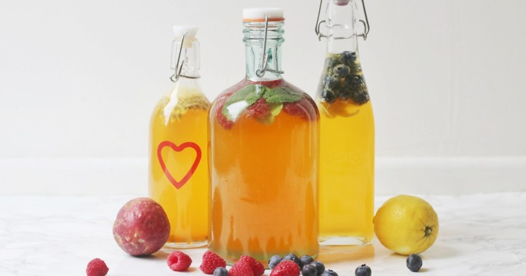 Flavoured kombucha: how to add flavours to your second ferment