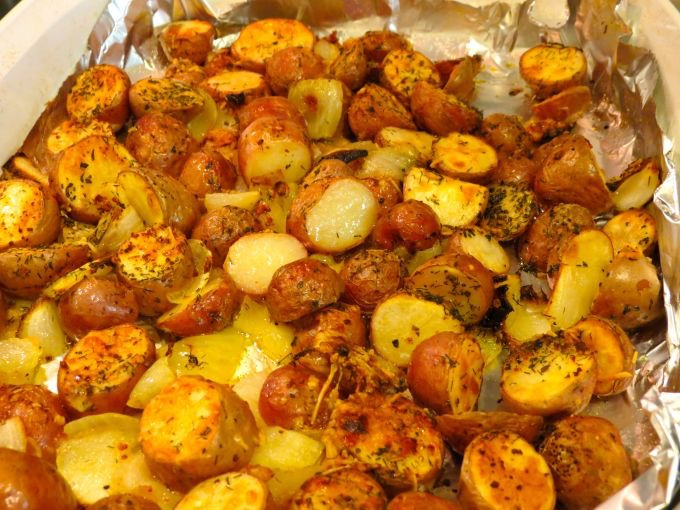 Roasted Red Potatoes In Oven