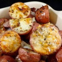 Oven Roasted Red Skin Potatoes
