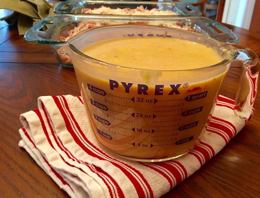 Chicken-Cordon-Bleu-Casserole-Cream-Sauce