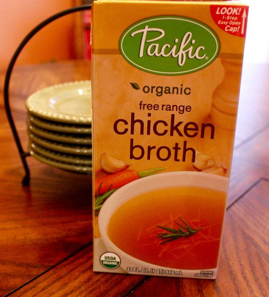 Potato Soup with Pacific Organic Free Range Chicken Broth