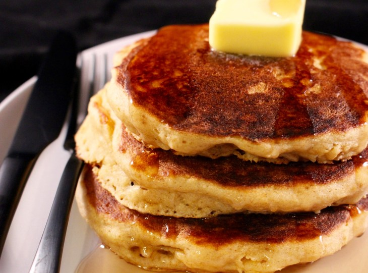 Whole Wheat Buttermilk Pancakes Finished