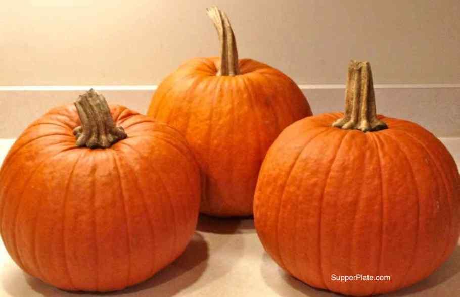 Cooking Pumpkins