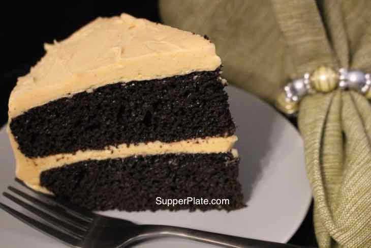 Homemade Chocolate Cake Cover