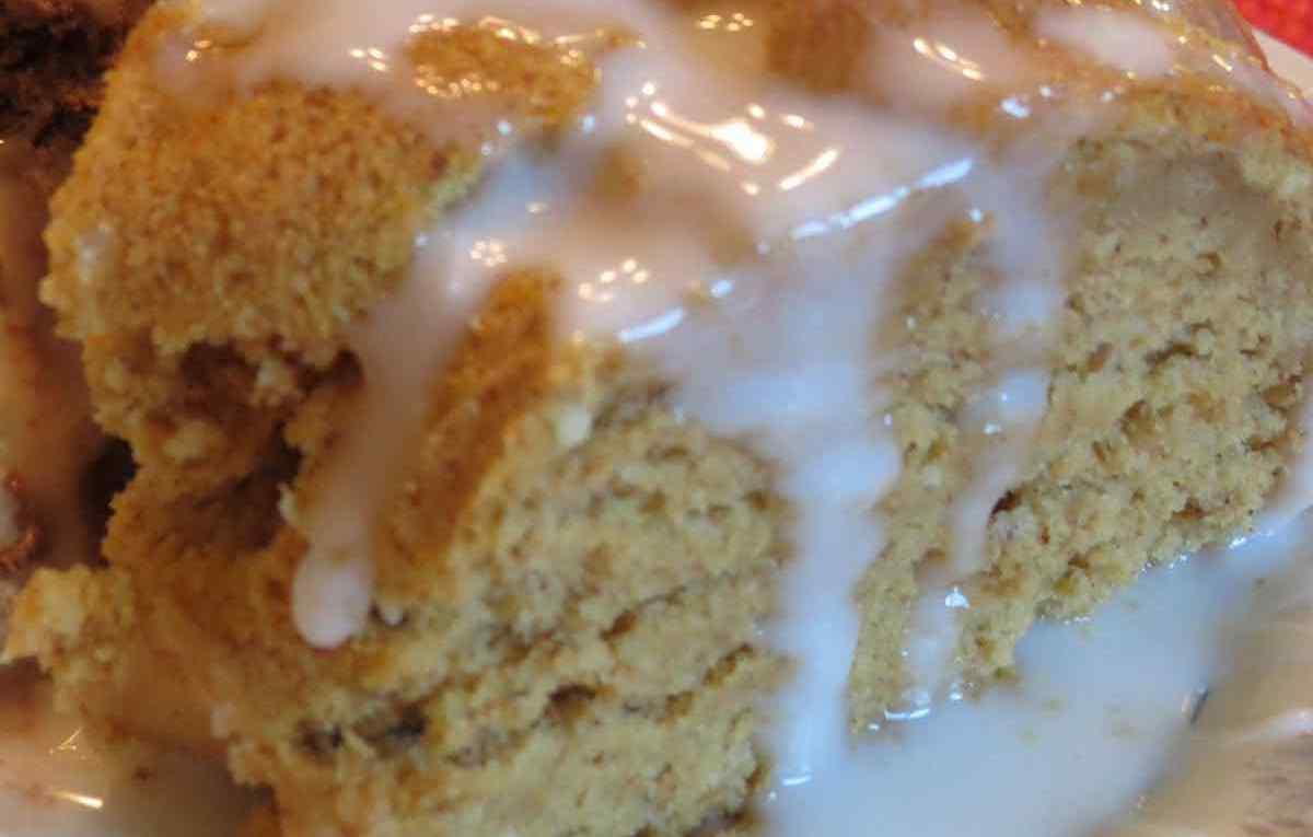 Pumpkin Cake Closeup