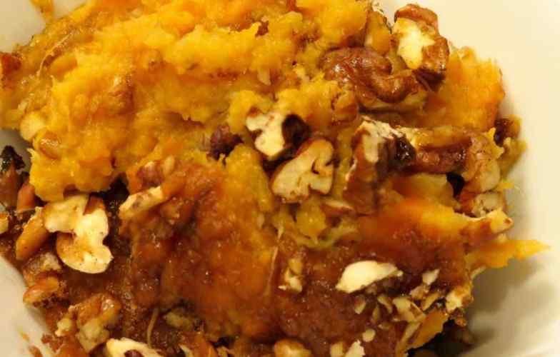 Sweet Potato Souffle