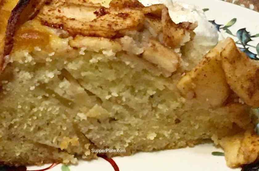 Apple Cinnamon Cake closeup