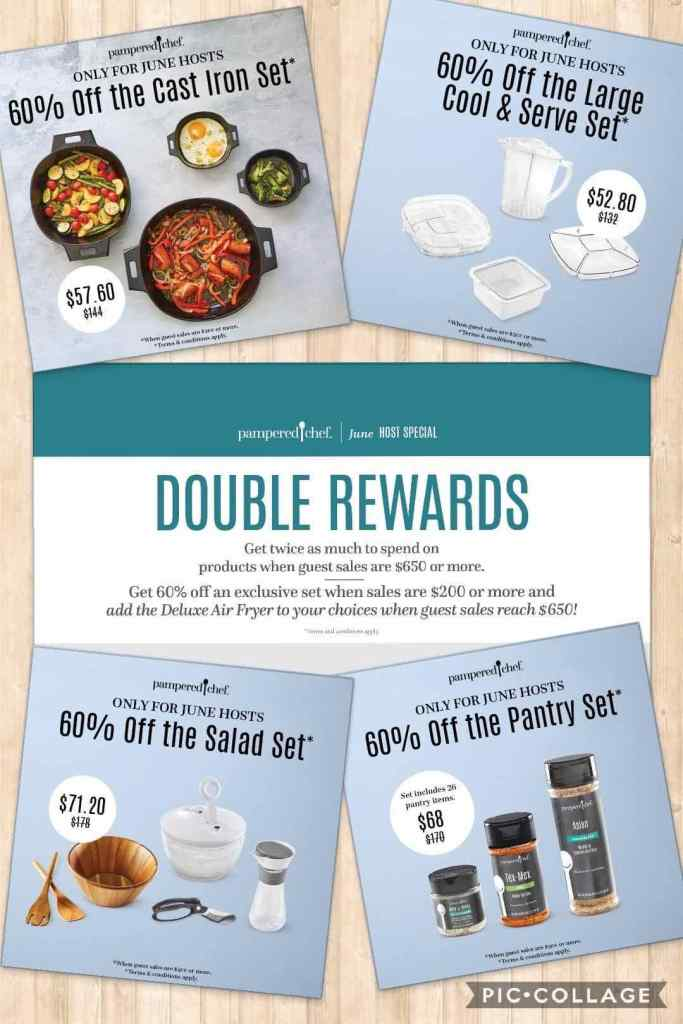 June Pampered Chef Specials