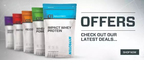myprotein special offers