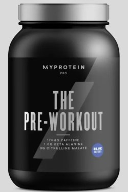 the pre workout myprotein