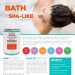 Turn each bath into a spa-like experience!