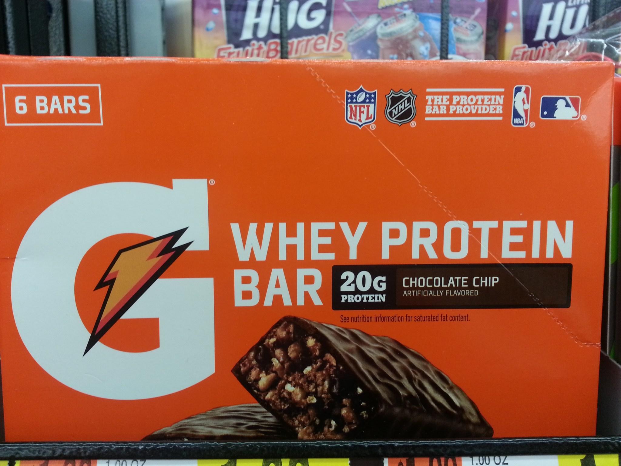 Gatorade Whey Protein Bar Review