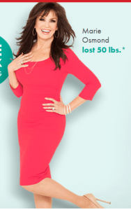 Marie-osmond-nutrisystem-review