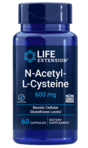 Life Extention N-acetyl cysteine (NAC) Part of GlyNac