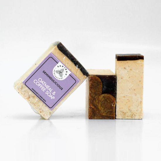 Skhindu Oatmeal And Coffee Soap