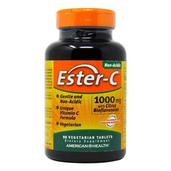 American Health: Ester-C 1000mg - 90 capsules