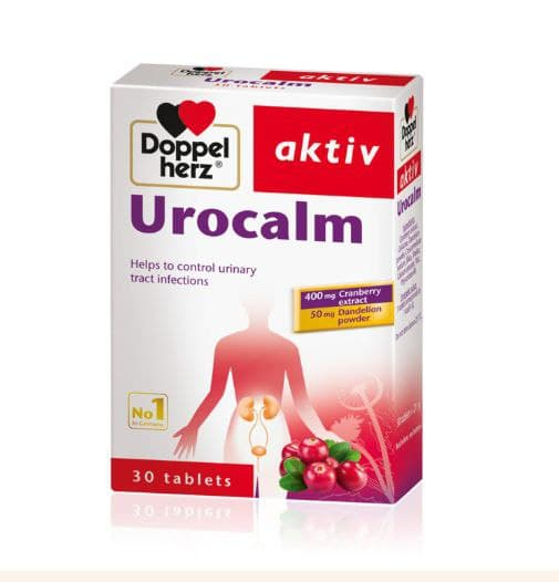 Doppelherz Urocalm - 30 Tabs