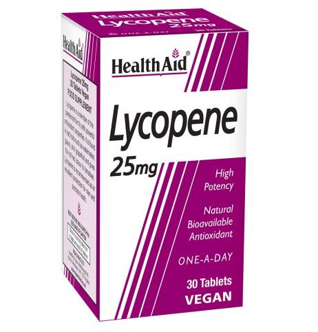 HealthAid Lycopene 25mg 30's Tablets