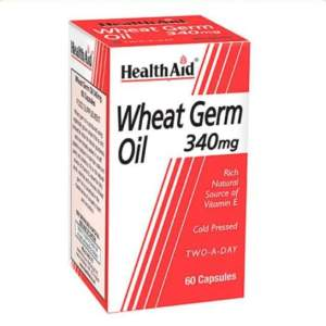 HealthAid Wheat Germ Oil 340mg 60 Capsules