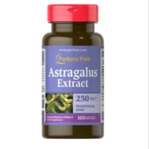 Puritan's Pride Astragalus Extract 250 mg - 100Cap