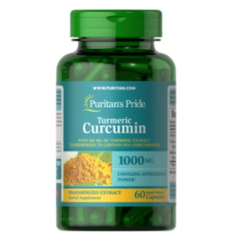 Puritans Pride Turmeric Curcumin 1000 mg 60 Cap