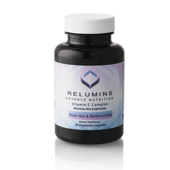 Relumins Advance Nutrition Vitamin C Complex MAX Skin Brightening with Rose Hips & Bioflavinoids