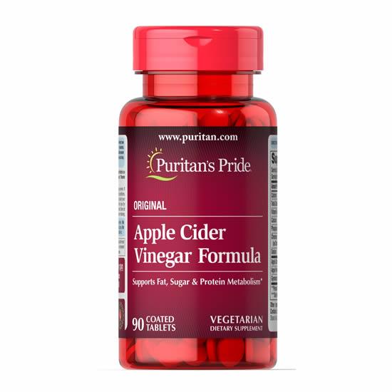 Puritan's Pride Apple Cider Vinegar Formula- 90 Tabs