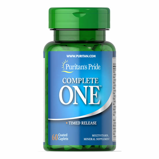 puritan's pride Complete One™ Multivitamin Timed Release 60 Tablets