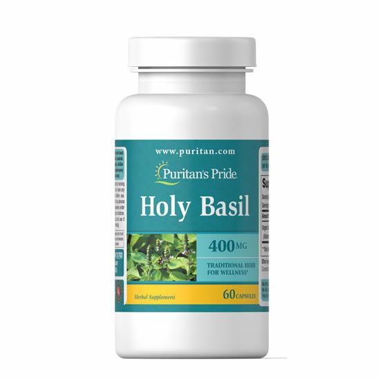 Puritan's Pride Holy Basil 400 mg- 60 Caps