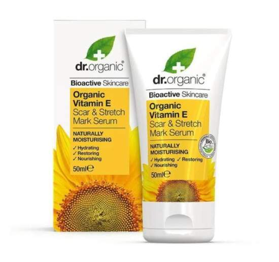 dr. Organic Vitamin E Scar & Stretch Mark Serum 50ml