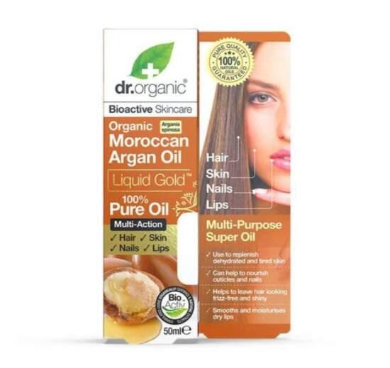 dr. organic Moroccan Argan Oil Pure Oil 50ml