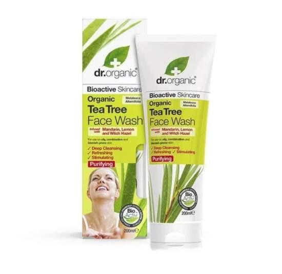 dr. organic Tea Tree Face Wash