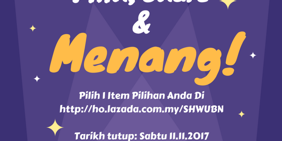 Pilih, Share & Menang supplementmama.com