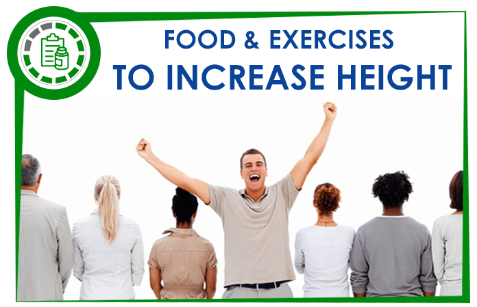 Best Foods And Exercises To Increase Height Fast