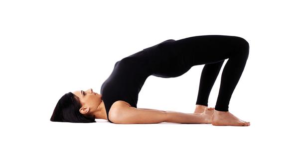 The Yoga Bridge Pose