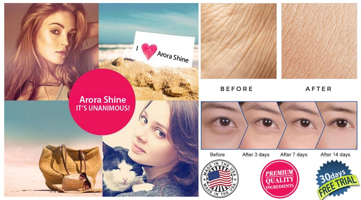 Arora shine Beauty cream Ingredients